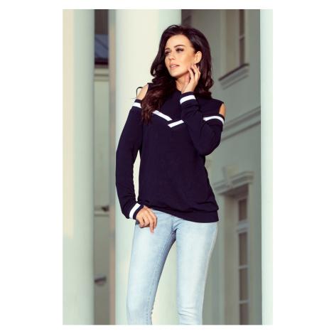 NUMOCO Woman's Sweatshirt 223-1 Navy Blue