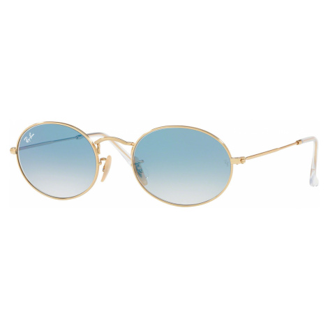 Ray-Ban Oval Flat Lenses RB3547N 001/3F