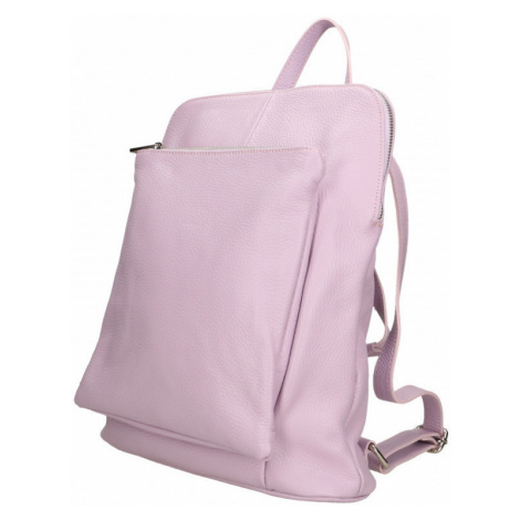 Dámský italský batoh z pravé kůže 2v1 Vittoria