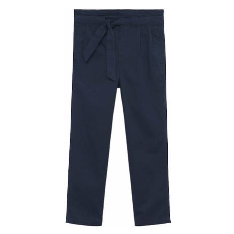 MANGO KIDS Kalhoty 'Chin1' námořnická modř