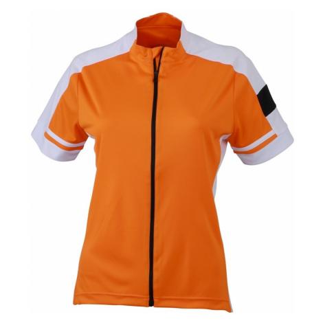 Dámský cyklistický dres JN453 James & Nicholson
