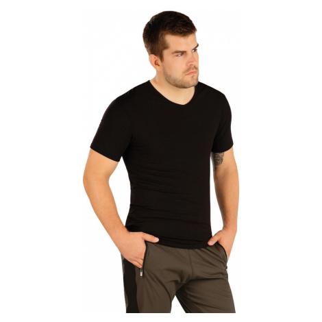 LITEX Triko pánské s krátkým rukávem. 99486901 černá