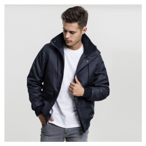 Urban Classics Heavy Hooded Jacket navy