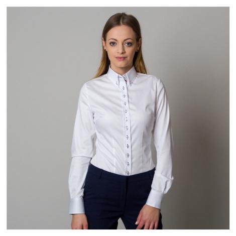 Dámská košile Willsoor 8605 v bílé barvě
