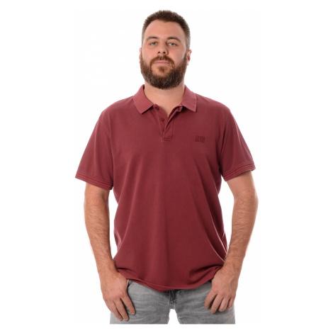 Polo triko Levi´s® Authentic Logo Polo pánské vínové
