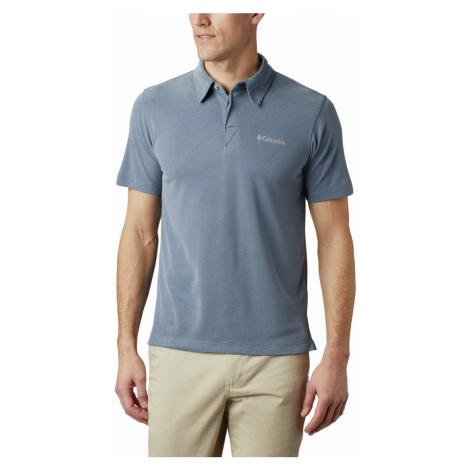 Tričko Columbia un Ridge™ Polo M - modrá