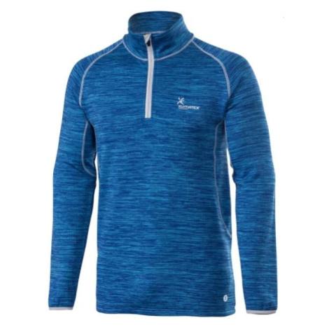 Thermo pulovr DAGUR Denim modrá Klimatex
