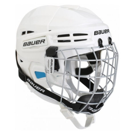 Bauer PRODIGY COMBO YTH bílá - Dětská helma s mřížkou