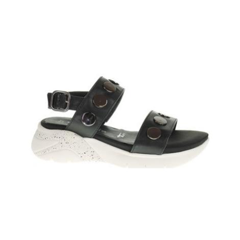 Tamaris Dámské sandály 1-28217-24 black Černá