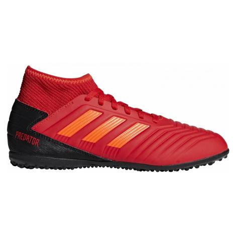Dětské kopačky adidas Predator 19.3 TF Červená / Černá