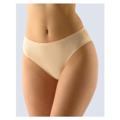 GINA Dámské kalhotky klasické 10206-LBH tělová