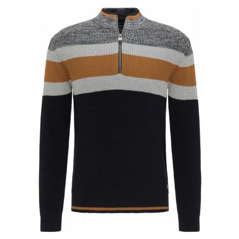 Pierre Cardin pánský svetr se zipem 55752/2544/3000