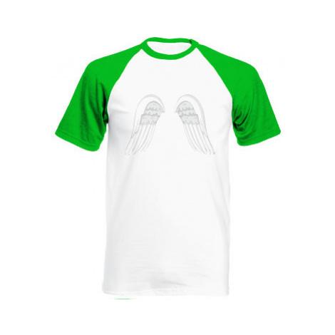 Pánské tričko Baseball Andělská křídla