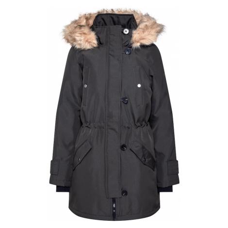 VERO MODA Zimní kabát 'Excursion Expedition Aw193/4' tmavě zelená