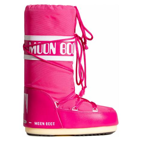 Sněhule Moon Boot NYLON růžová