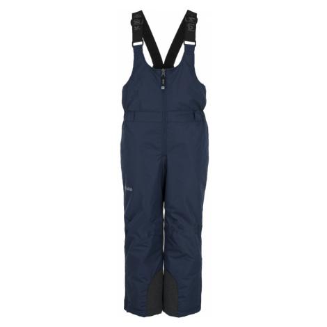 KILPI Chlapecké lyžařské kalhoty DARYL-JB JJ0012KIDBL Tmavě modrá