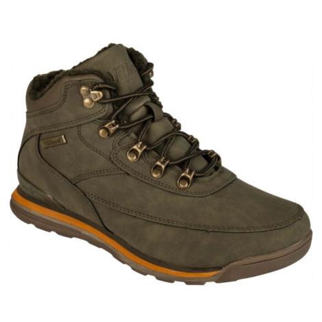 Willard CLAY tmavě zelená - Dámská zimní obuv
