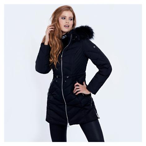 Guess dámská černá dlouhá bunda