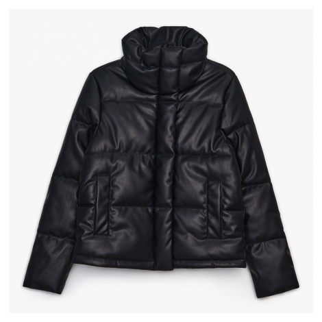 Cropp - Prošívaná bunda puffer - Černý