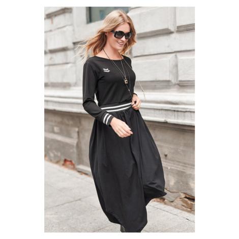 Černé šaty NU272 Numinou