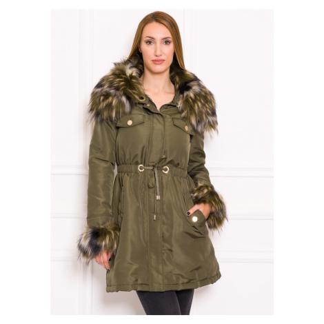 Dámská zimní bunda khaki GUESS BY MARCIANO