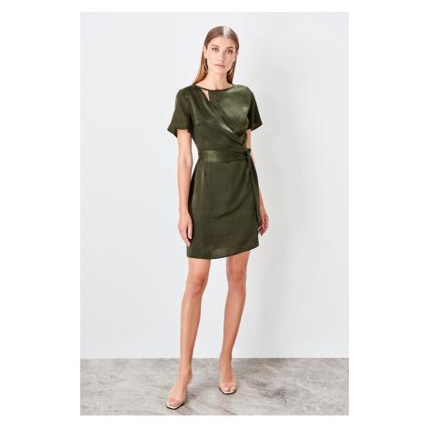 Dámské šaty Trendyol Belt detailed