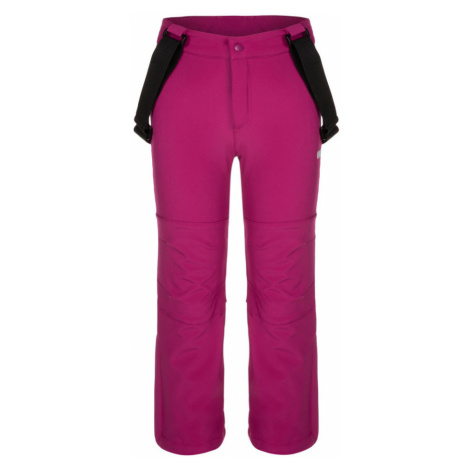 LOAP LONNY Dětské softshellové lyžařské kalhoty SFK1911H20H H20H