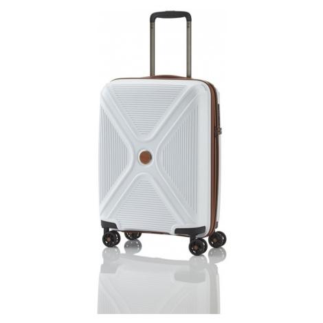 Titan Kabinový cestovní kufr Paradoxx 4w S White 40 l