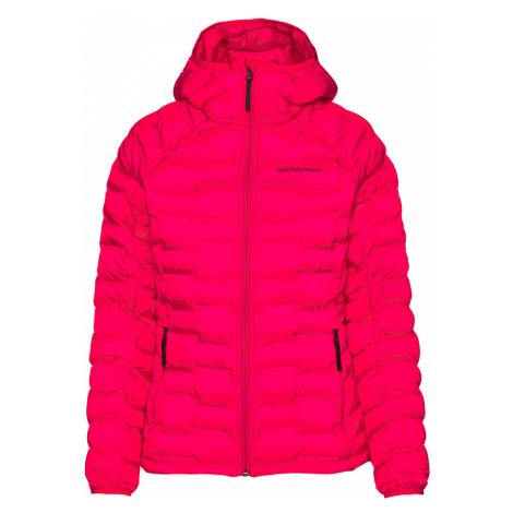 Bunda Peak Performance W Argon Light Hood Jacket - Růžová