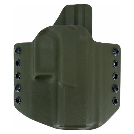 OWB CZ P-10 C - vnější pistolové pouzdro s polovičním SweatGuardem RH Holsters® – Olive Green