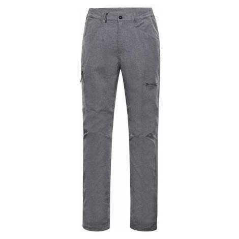 Pánské softshellové kalhoty Alpine Pro TIMER - světle šedá