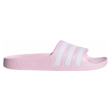 Dětské pantofle adidas Adilette aqua Růžová / Bílá