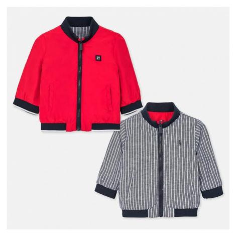 Chlapecká oboustranná bunda 1461 | červená Mayoral