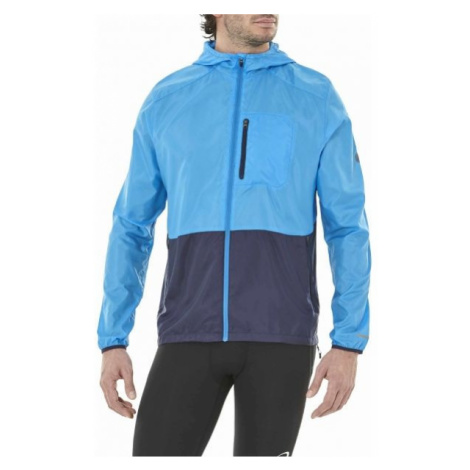 Asics PACKABLE JACKET modrá - Pánská běžecká bunda