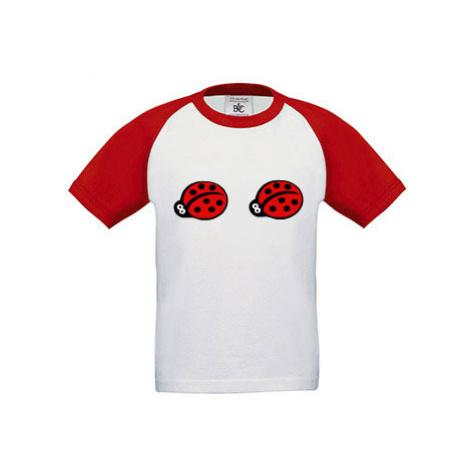 Dětské tričko baseball Berušky