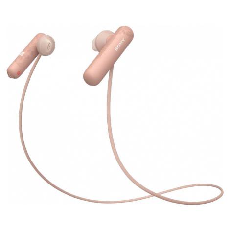 Sony WISP500P.CE7 Sportovní bezdrátová sluchátka růžová