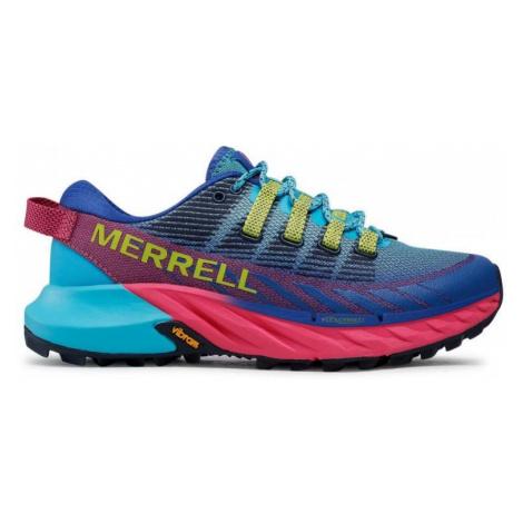 Dámské trailové boty Merrell Agility Peak 4 Světle modrá / Růžová