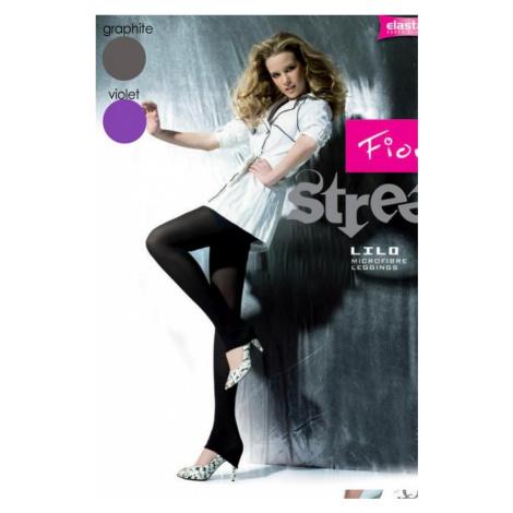 Dámské legíny Fiore 6004 Lilo šedé | grafitová
