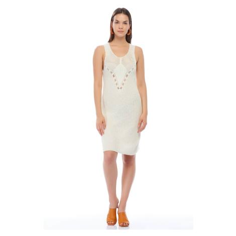 Koton Women Ecru Dress