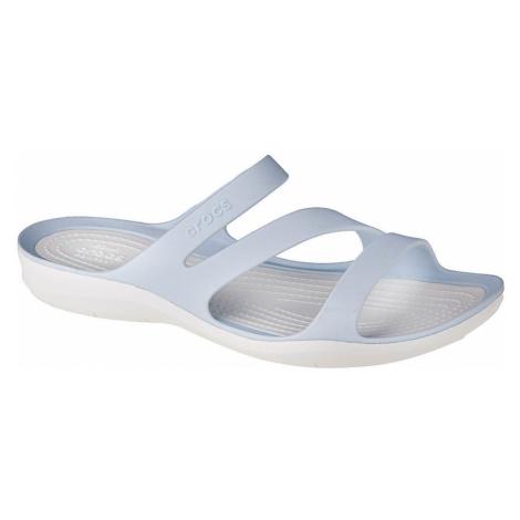 Crocs W Swiftwater Sandals Modrá