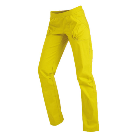 LITEX Kalhoty dámské dlouhé bokové. 99581104 žlutozelená