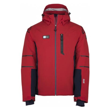 KILPI Pánská lyžařská bunda - větší velikosti CARPO-M JMX202KIRED Červená