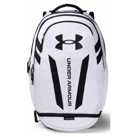 Batoh Under Armour Hustle 5.0 Backpack Bílá / Černá