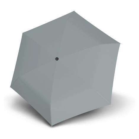Šedý dámský mechanický skládací ultralehký deštník Nachel Doppler