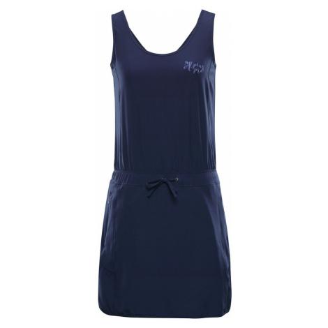 ALPINE PRO PATA Dámské šaty LSKN185602 mood indigo