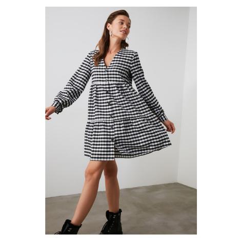 Dámské šaty Trendyol Checkered