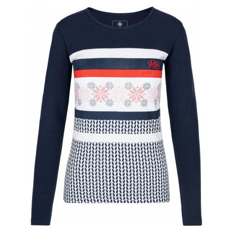 KILPI Dámské triko dlouhý rukáv JULS-W NL0101KIDBL Tmavě modrá