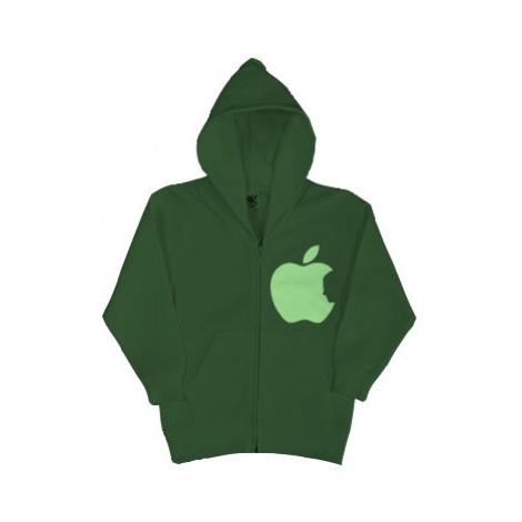 Dětská mikina na zip Apple Jobs