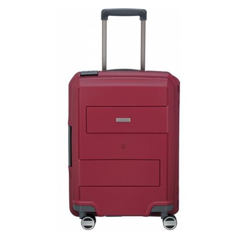 Travelite Cestovní skořepinový kufr Makro 4w S Red 39 l