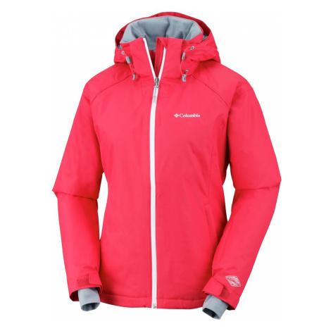 Bunda Columbia Snow Front™ Jacket W - červená XS